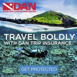 Sign Up For DAN Travel Insurance